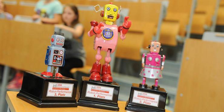 Preise Roboterwettbewerb