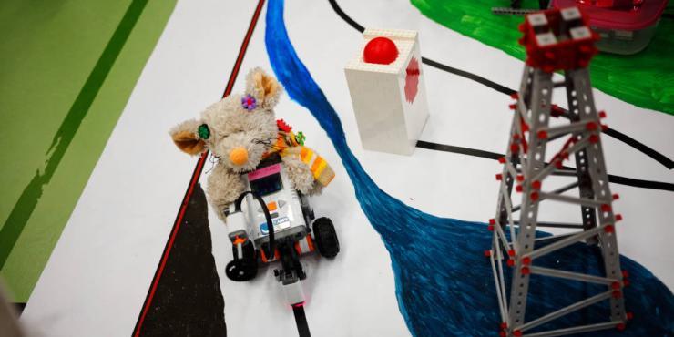 Roboter Jam im Finale